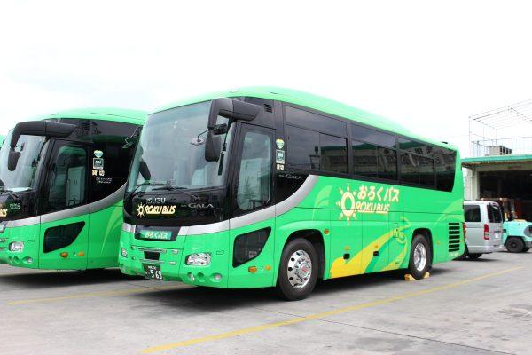 沖縄・貸切バス(おろくバス)中型バス