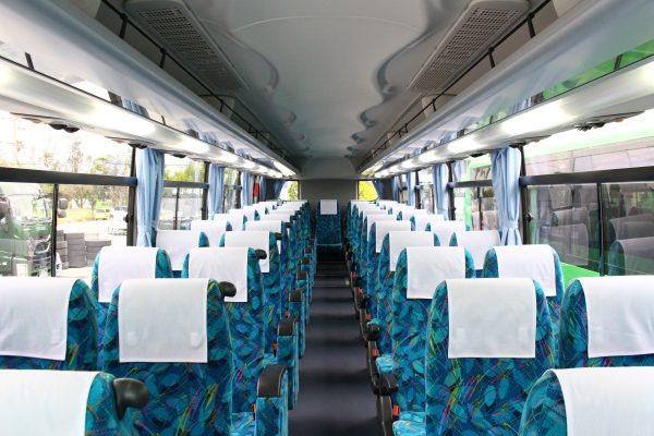 沖縄・貸切バス(おろくバス)大型バス・車内