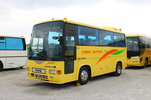 沖縄・貸切バス(中央交通)小型バス