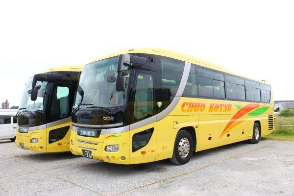 沖縄・貸切バス(中央交通)大型バス