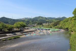 秋川渓谷バーベキュー場